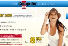 ComputerBILD und DetuschlandSIM Leseraktion – SMART 1000 4 Euro günstiger