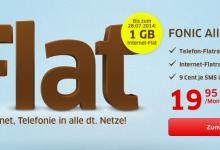 Fonic Allnet-Flat mit 1 GB Daten-Flat