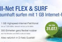 GMX.DE und WEB.DE : 1 GB Internet-Flat im Vodafone Netz