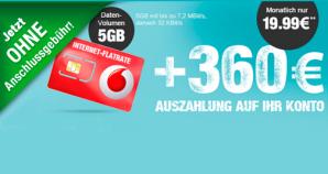 Logitel: Internet-Flat mit 5GB Datenvolumen bei Vodafone für effektive 4,99 Euro