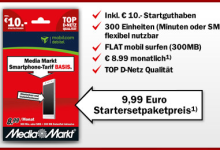 Media Markt Prepaid Tarif