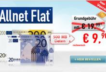 Allnet-Flat unter 10 Euro im o2 Netz