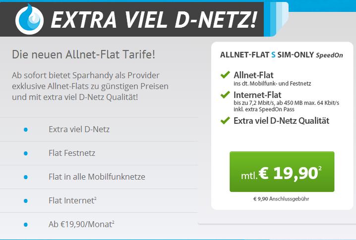 Sparhandy im Telekom Netz
