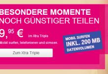 Prepaid-Tarif – XTRA Triple mit SMS-Flat