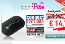 Daten-Flat 5GB mit LTE Geschwindigkeit für 14,99 Euro