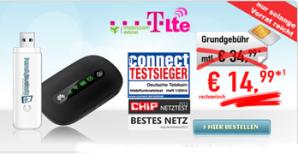 5 GB Daten-Flat im Telekom Netz mit LTE für rechnerisch 14,99 €