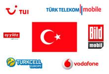 Mobiles Internet mit Prepaid-Karte in der Türkei
