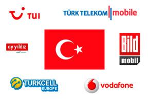 Günstiges Mobiles Internet mit Prepaid-Karte in der Türkei