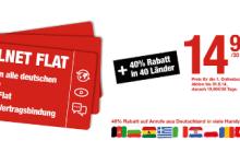 Ortel Mobile Prepaid Allnet Flat im erten Monat 14,90 Euro