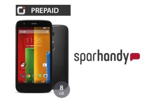 Sparhandy Deal: Motorala Moto G mit Otelo Prepaid-Karte und ohne SIM-Lock für 122 Euro