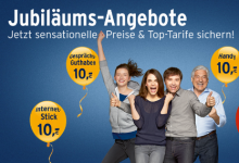 Smartphone Tarif im ersten Monat gratis