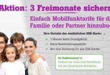 Familiy Aktion bei Tele2