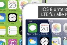 E-Plus: iOS 8 mit LTE versehen
