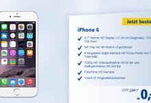 iPhone 6 und iPhone 6 Plus bereits beii 1 und 1 bestellbar