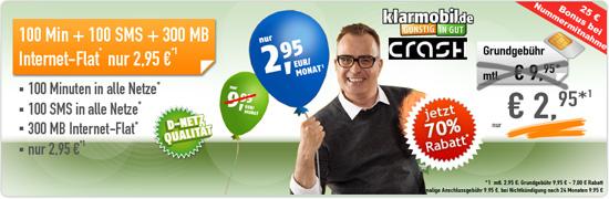 Allnet Starter von Klarmobil bei Handybude 70% günstiger
