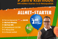 Klarmobil feiert Geburtstag: Allnet starter 70% reduziert