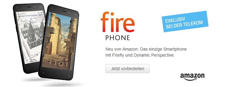 Amazon Fire Phone bei Telekom Vorbestellen