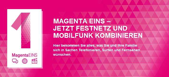 Telekom: Neues Angebot - MagentaEINS