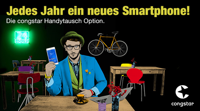 Handy Tausch bei Congstar als Option