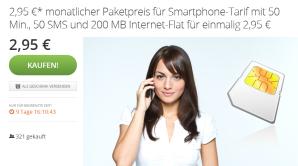 Einsteiger-Tarif von DeutschlandSIM über Groupon 40% günstiger erhältlich