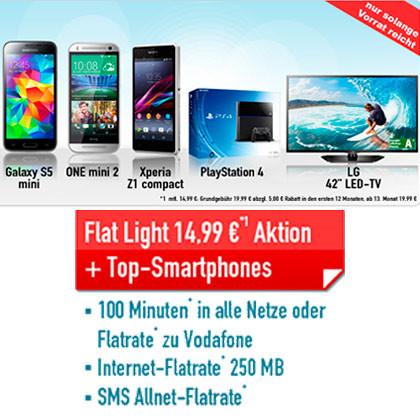 Handybude Flat Light Vodafone