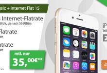 iPhone 6 mit Allnet-Flat für 35 Euro