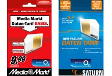 Neuer Daten-Tarife von Media Markt und Saturn im o2 Netz