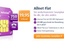 Netzclub neuer Tarif - Allnet Flat