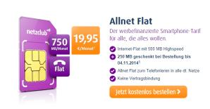 Netzclub: Prepaid Allnet Flat und Allnet Clever ab sofort bestellbar
