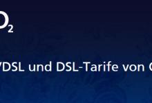 DSL und VDSL Tarife von o2