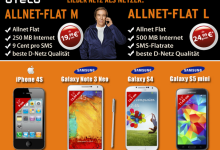 otelo Allnet-Flat M oder L mit Smartphone ab 1 Euro