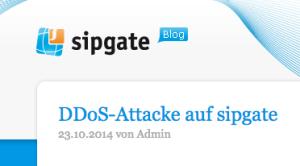 DDos Attacke auf simquadrat und sipgate