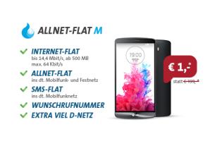sparhandy: Allnet-Flat im Telekom-Netz 5 Euro günstiger erhältlich