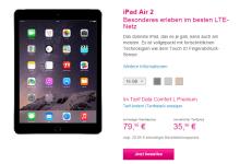 iPad Air bei Telekom bestellen