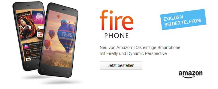 Amazon Fire Phone bei Telekom bestellen