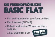 yourfone Basic Flat Tarif