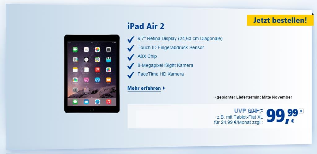 1und1 iPad Air 2