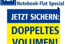 1und1 Tablet-Flat und Notebook-Flat doppeltes volumen
