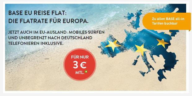 BASE EU Reise Flat