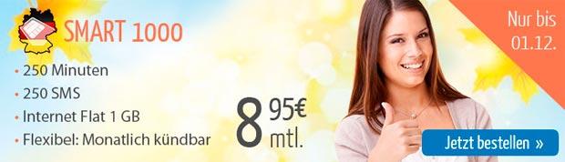Deutschland SIM Smart 1000