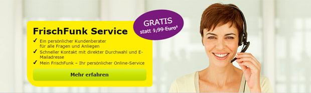 FrischFunk Service