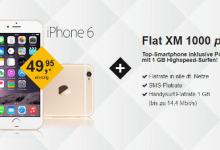iPhone 6 mit Allnet-Flat unter 40 Euro im Monat bei kotel.de