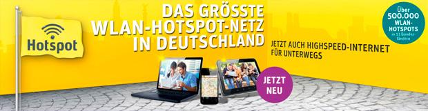 Kabel Deutschland WLAN-Hotspots ab sofort nutzbar
