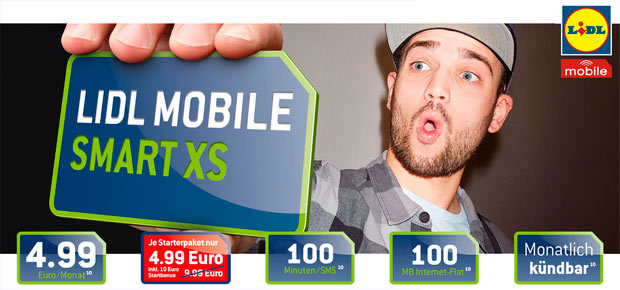 LIDL Mobile Smart XS