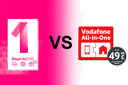 MagentaEins vs Vodafone All-in-one