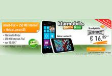 Nokia Lumia 635 & AllNet-Spar-Flat für eff. 11,72 Euro/Monat