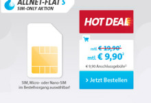 sparhandy Allnet Flat S und L hot deal