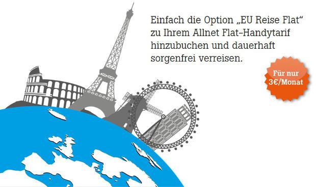 Tele2 EU Reise Flat