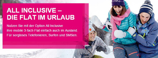 Telekom Option All Inclusive - Eine Auslands-Flat