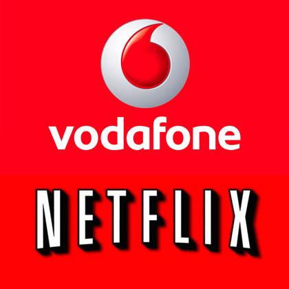 Vodafone und Netflix